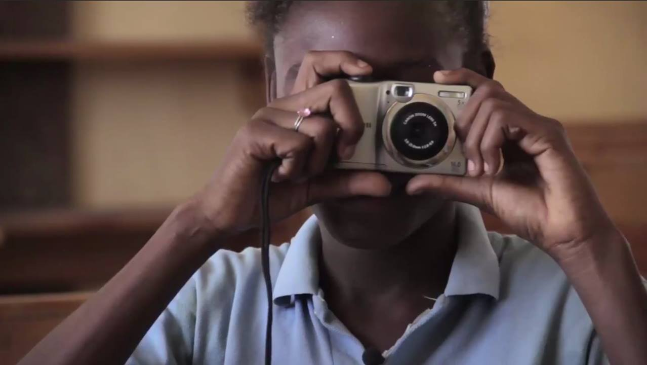 Our students grab a camera for the first time
